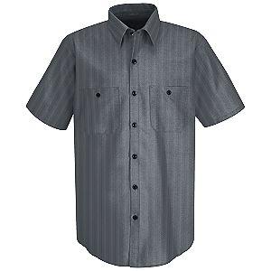Charcoal w/Blue/White Stripe