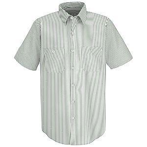 White/Green Stripe