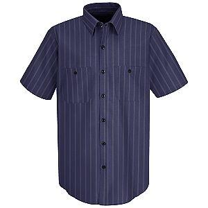 Blue w/Brown/White Stripe