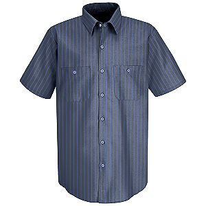Grey/Blue Stripe