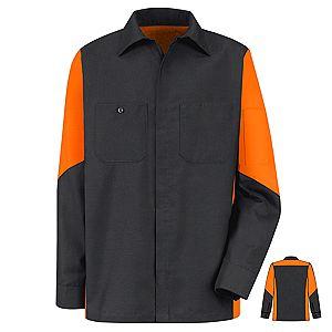 Charcoal / Orange