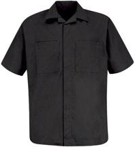 Convertable Collar Shirt Jacket
