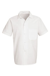 Gripper Front Cook Shirt