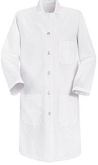 Women's Button Closure Lab Coat