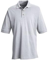 Men's Basic Pique Pocketless Polo Shirt