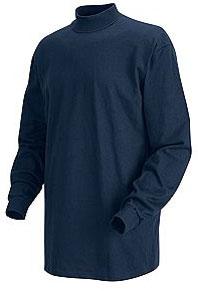 Men's Long Sleeve Mock Turtleneck Shirt