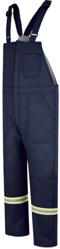 Bullwark Deluxe Insulated Comfort Touch Bib Overall W/Reflective Trim