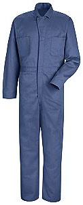 Snap Front Cotton Coverall