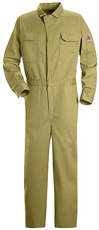 """Bulwark Excel-FRâ""""¢ Flame Resistant Deluxe Contractor Coverall"""