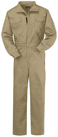 Bulwark Excel-FR ComforTouch Flame Resistant 7oz. Deluxe Coverall