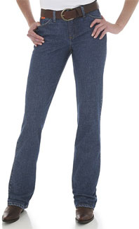 Wrangler Female Blue Stone Jean