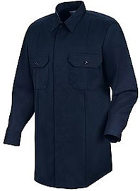 """First Callâ""""¢ Concealed Button-Front Long Sleeve Shirt"""