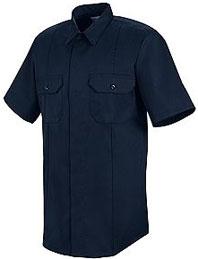 "First Callâ""¢ Concealed Button-Front Short Sleeve Shirt"