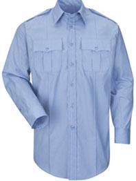Mens New Dimension® Plus Poplin Long Sleeve Shirt