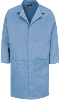 Bulwark CoolTouch® 2 Flame Resistant 7oz Concealed Snap Front Lab Coat