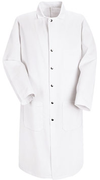 Full Cut Twill Butcher Coat