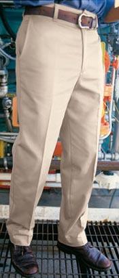 Men's Wrinkle Resistant Cotton Work Pant
