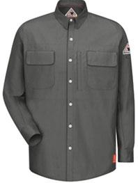 Bulwark FR iQ Long Sleeve Patch Pocket Shirt