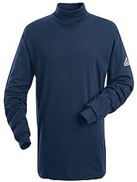 "Bulwark EXCEL-FRâ""¢ Flame Resistant Long Sleeve Tagless Mock Turtle Neck"