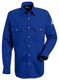 """Bulwark EXCEL-FRâ""""¢ Flame Resistant Snap Front Deluxe Shirt"""