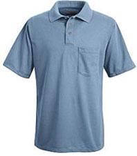 Men's 100% Polyester Pique Polo Shirt