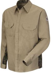 Bulwark Flame Resistant Camo Uniform Shirt