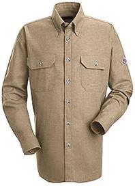 """Bulwark EXCEL-FRâ""""¢ Flame Resistant 6oz. ComforTouchâ""""¢ Dress Uniform Shirt"""