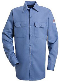 "Bulwark EXCEL-FRâ""¢ ComforTouchâ""¢ Flame Resistant Button Front Work Shirt"