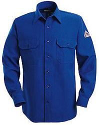 Bulwark Nomex® IIIA Flame Resistant 6 oz. Button Front Deluxe Shirt