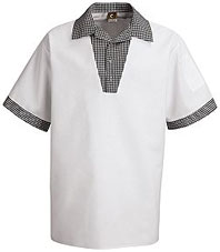 Snappy V-Neck Chef Shirt
