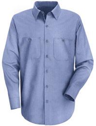 Men's Durastripe® Long Sleeve Work Shirt