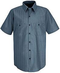 Durastripe Short Sleeve Work Shirt