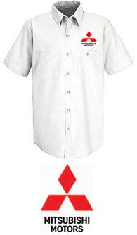 Mitsubishi Technician/Parts Short Sleeve Shirt