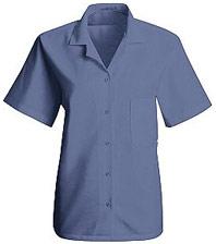 Women's Short Sleeve Uniform Blouse