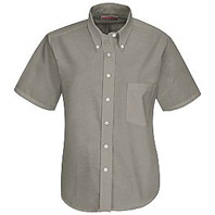 Women's Executive Button-Down Short Sleeve Shirt