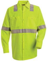 Hi-Visibility Long Sleeve Shirt - Type R, Class 2