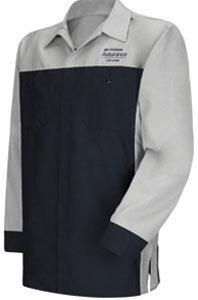 Hyundai Technician Long Sleeve Shirt