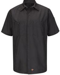 Solid Short Sleeve Crew Shirt