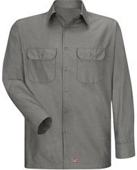 Men's Solid Ripstop Work Shirt