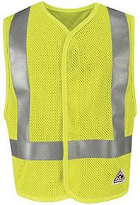 Bulwark Flame-Resistant Hi-Vis Mesh Vest