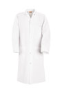 Gripper Front Polyester Butcher Coat