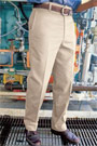Men's Wrinkle Resistant Cotton Work Pant